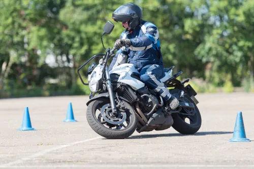 Motorrijbewijspoint Zaandam motor rijtest